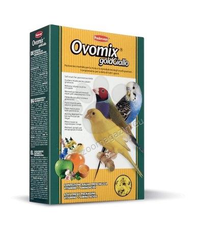 Padovan Ovomix gold giallo - хранителна добавка за канарчета, вълнисти папагали и екзотични птици 300 гр.