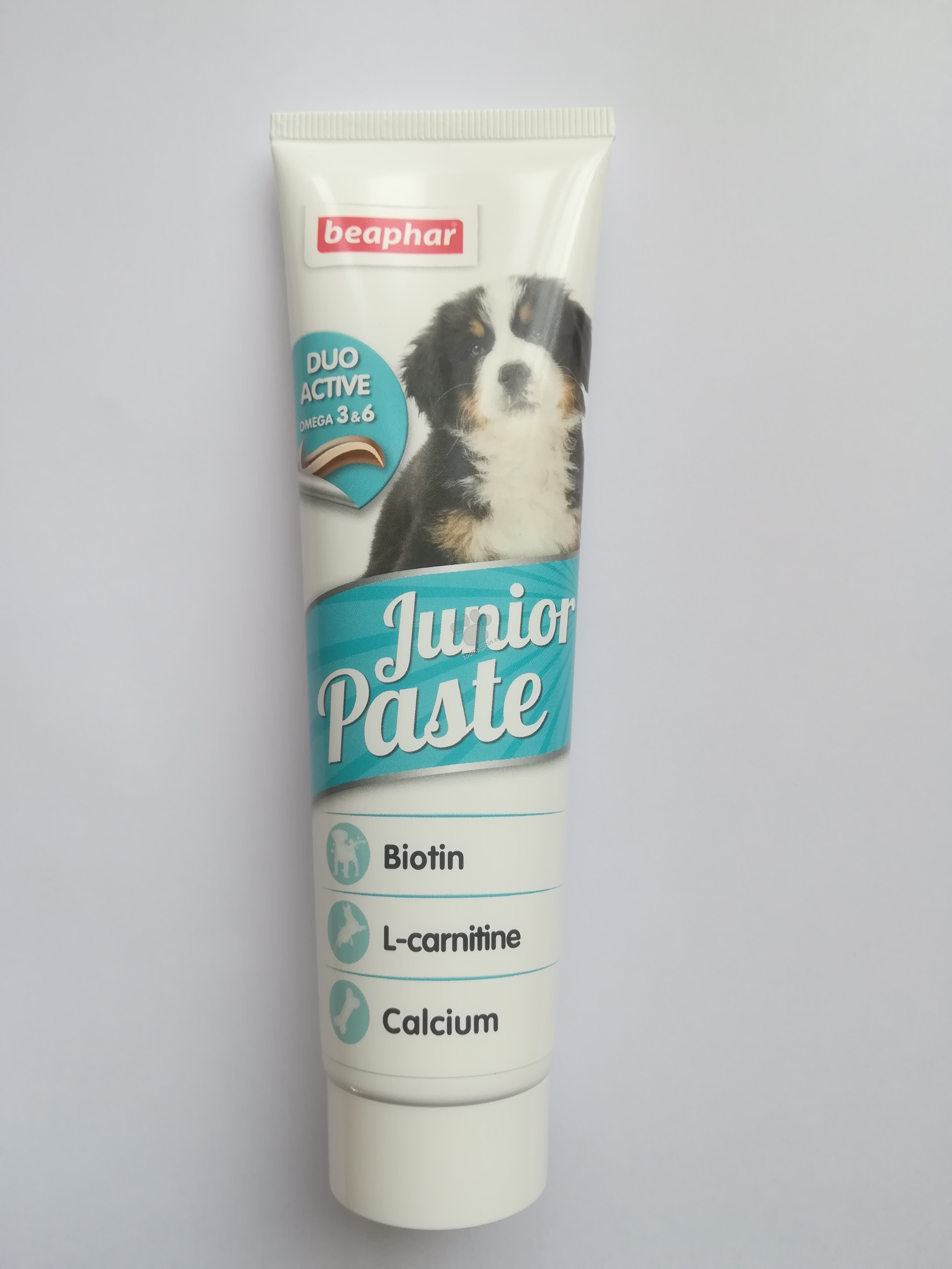Beaphar Duo Active Junior - мултивитаминна паста за подрастващи кученца 100 гр.