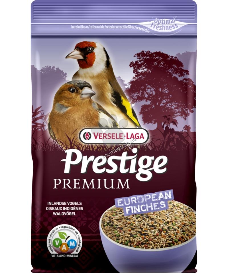 Versele Laga - Premium Prestige Europian Finches - пълноценна храна за европейски финки 800 гр.