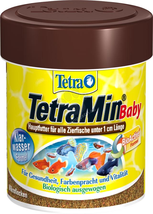 Tetra - TetraMin Baby - специализирана храна за новородени рибки до 1 см. 66 мл.