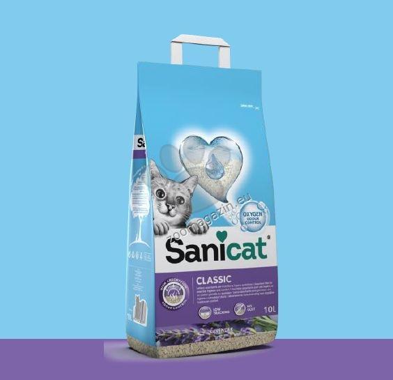 Sanicat Classic Lavender - абсорбиращ класически бентонит / лавандула / 10 литра