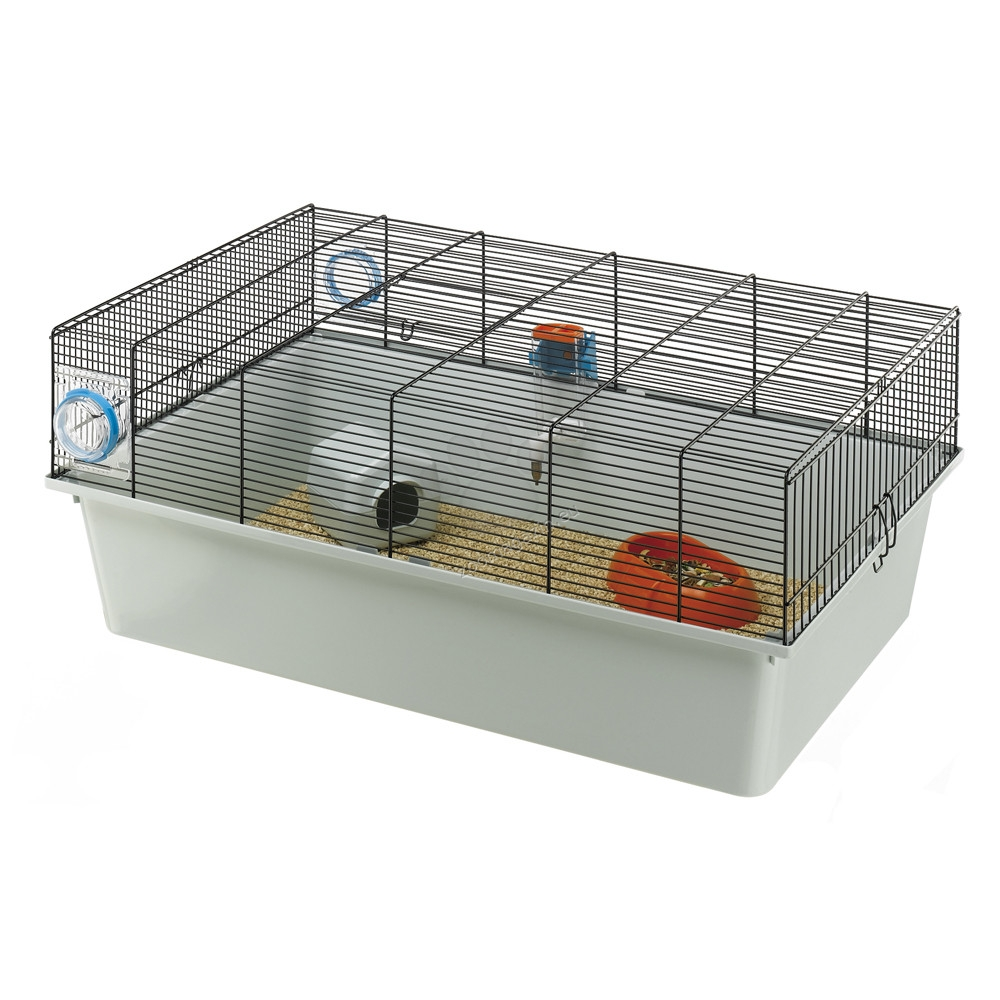 Ferplast - Kios - клетка за мишки с пълно оборудване 70 / 47 / 28 см.