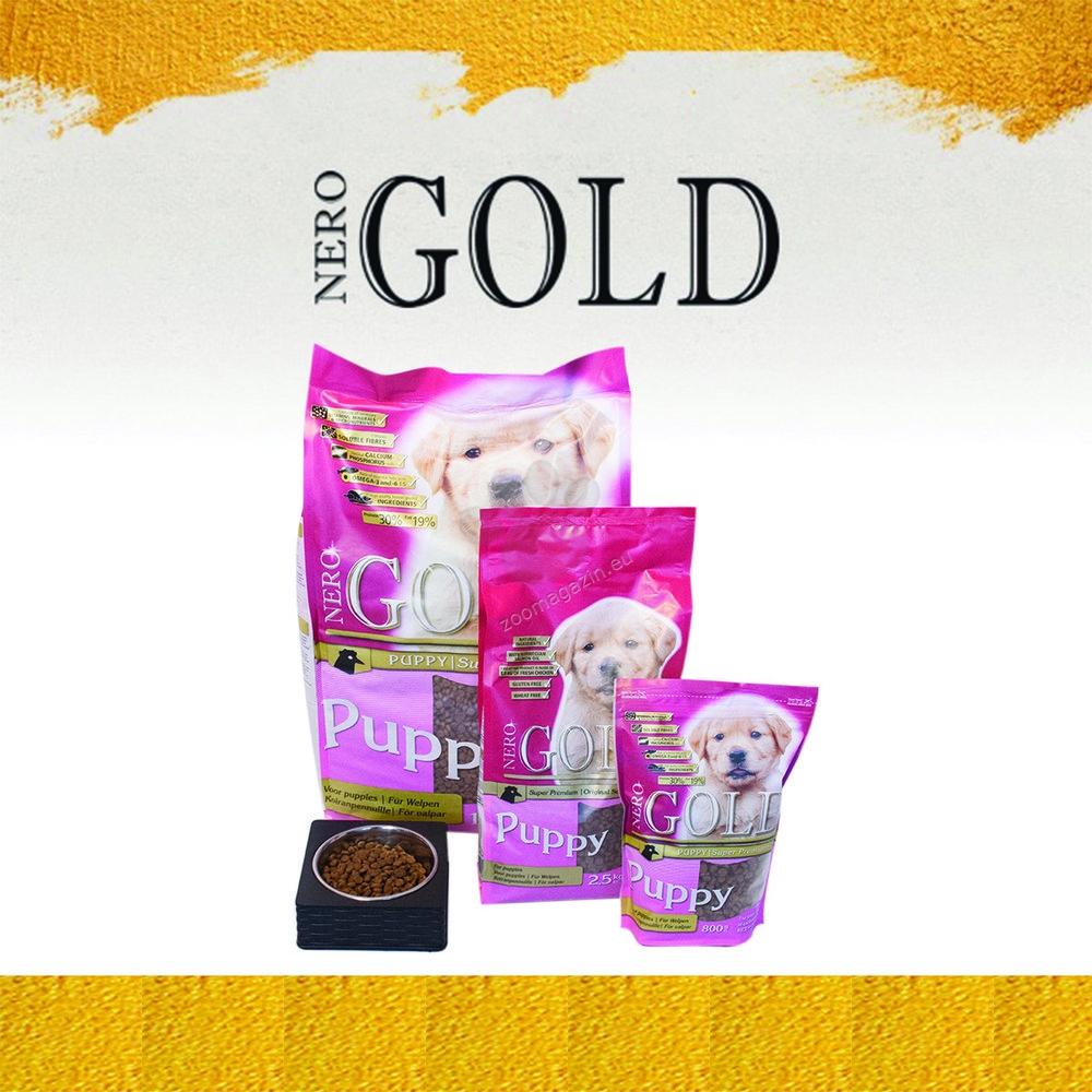 Nero Gold Puppy - пълноценна храна за кучета малки и средни породи до 12 месечна възраст 12 кг.