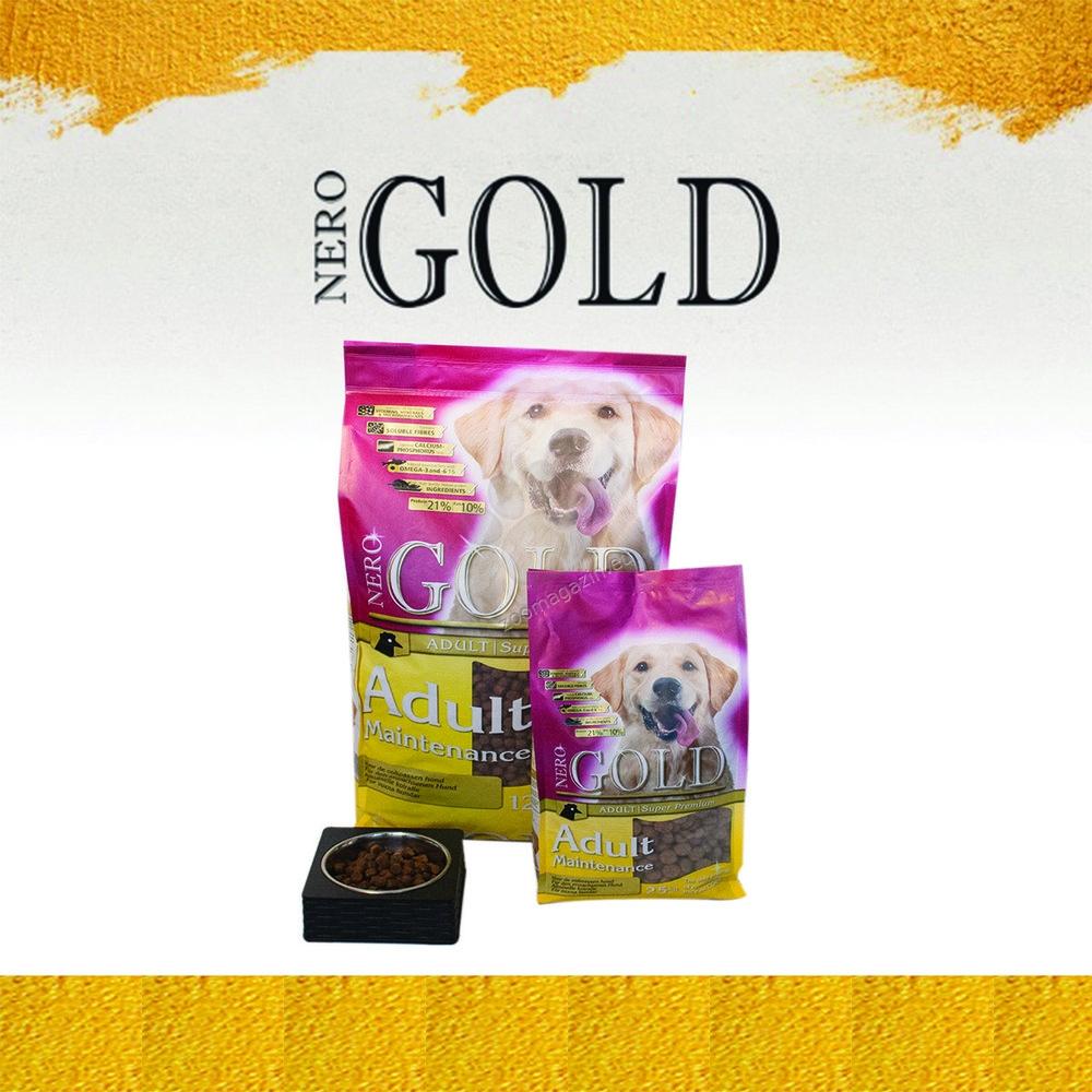 Nero Gold Maintenance - пълноценна храна за кучета над 12 месечна възраст, подходяща за всички породи 12 кг.