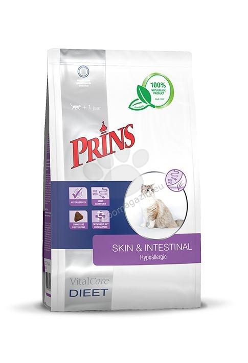 Prins VitalCare diet Skin & Intestinal Hypoallergic - диетична храна за котки с непоносимост към храни и / или страдащи от стомашно-чревни проблеми 5 кг.