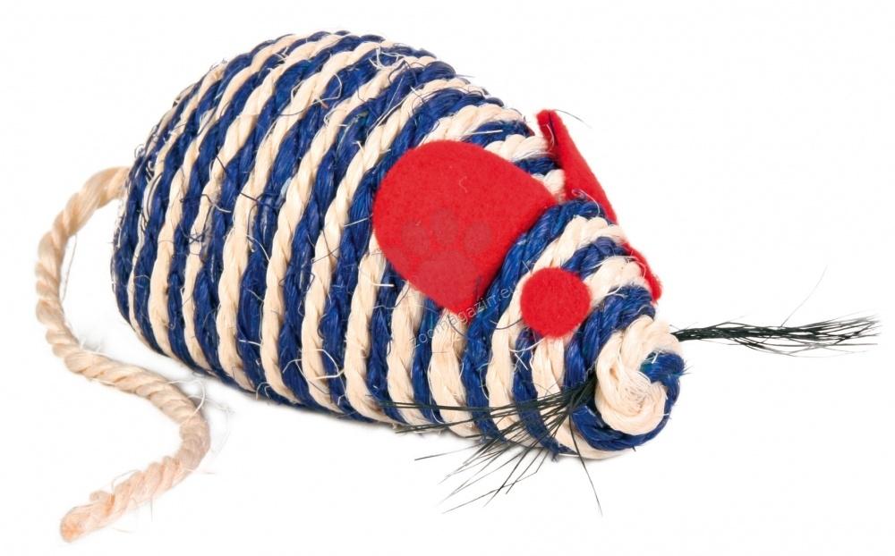 Trixie Sisal Mouse - мишка сизал 10 см.