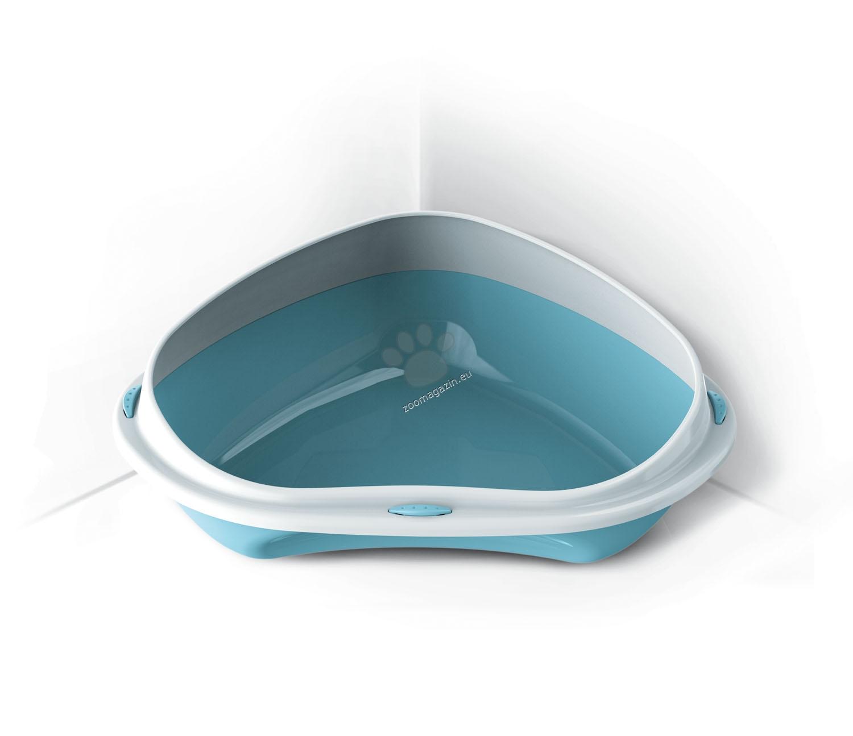 Georplast - Shuttle Corner - ъглова тоалетна 58 / 48 / 20 см.  / розова, синя, зелена, сива /