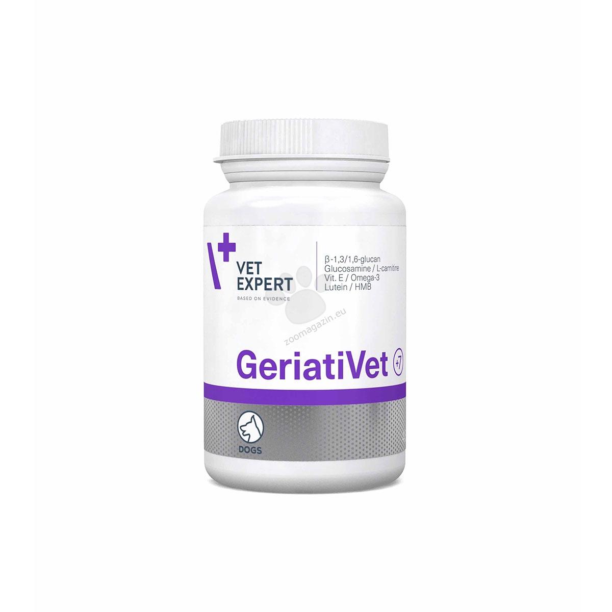 Vetexpert - GeriatiVet - цялостна грижа за възрастните кучета, за малки и средни породи 45 табл.