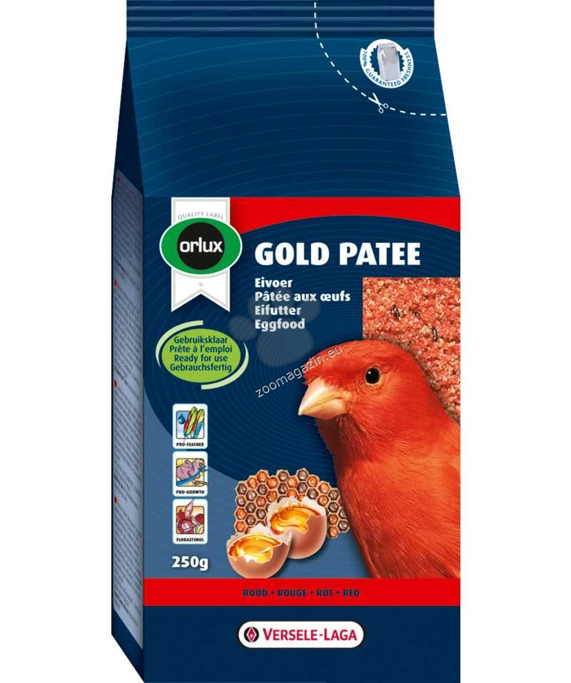 Versele Laga - Orolux Gold Patee Red Canaries - мека яйчна храна за червени канари  250 гр.
