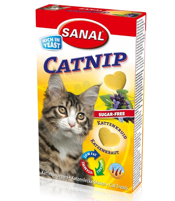 Sanal Cat Catnip - лакомство за котки 30 гр.