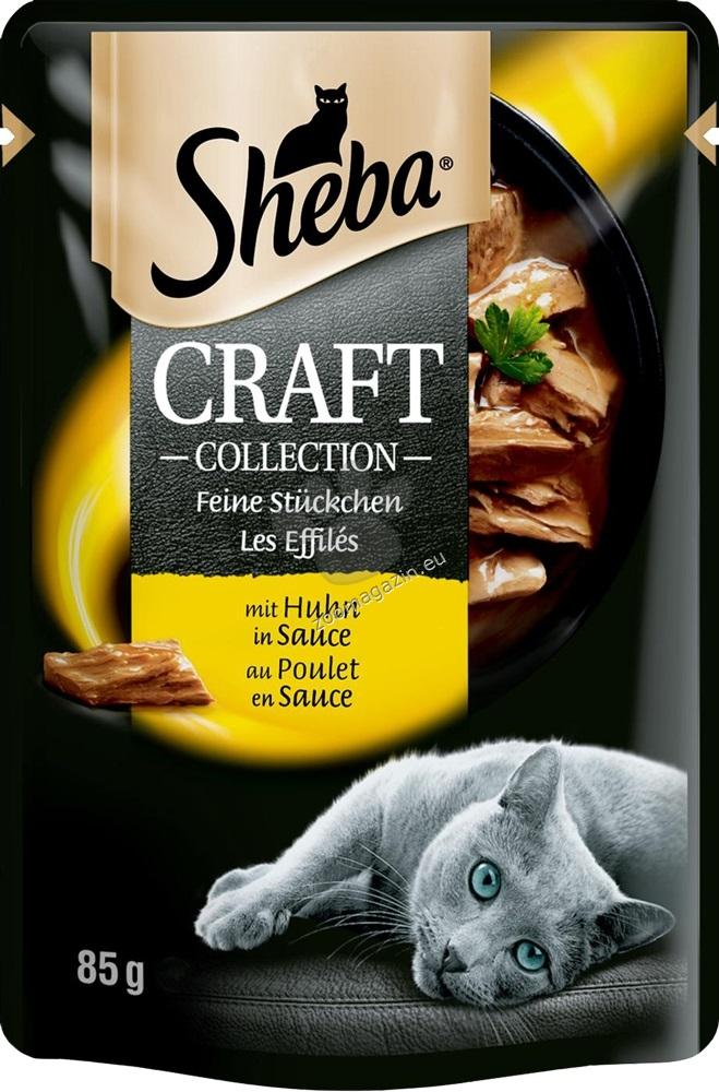 Sheba Craft Collection - паучове с пилешко месо 12 х 85 грама