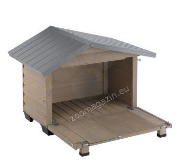 Ferplast - Canada 2 - дървена къща за куче, 78 / 57 / 62 cm