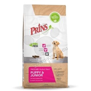 Prins ProCare Puppy & Junior Perfect Start - препоръчва се за малки и млади кучета от средни и големи породи до 18 месеца 3 кг.
