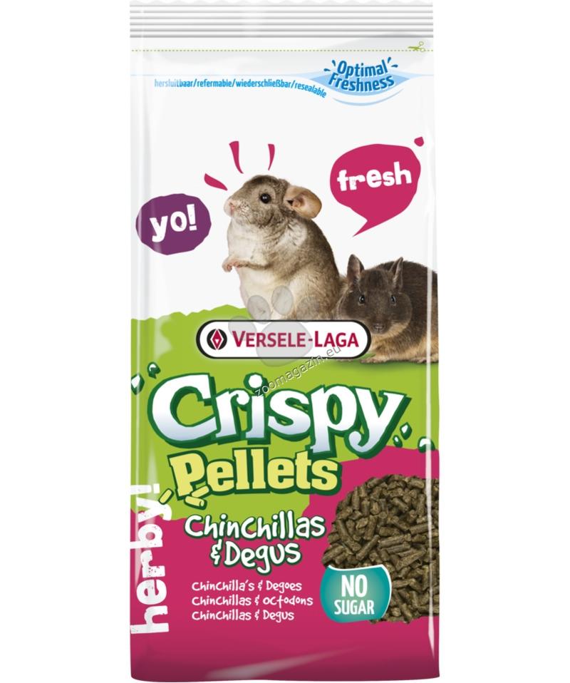Versele Laga - Crispy Pellets Chinchillas & Degus - пълноценна храна за чинчили и дегу 1 кг.