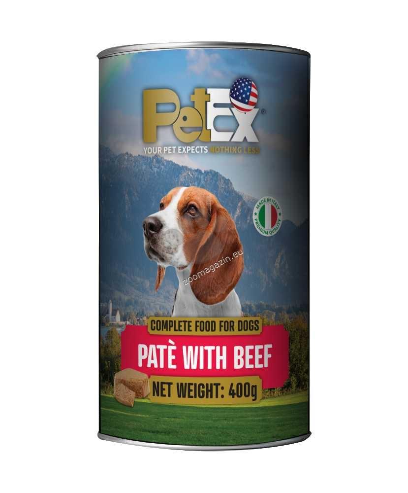 Petex Dog Pate Beef - с говеждо месо, пастет 400 гр.