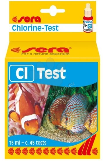 Sera - Cl Test - за съдържание на хлор 15 мл.