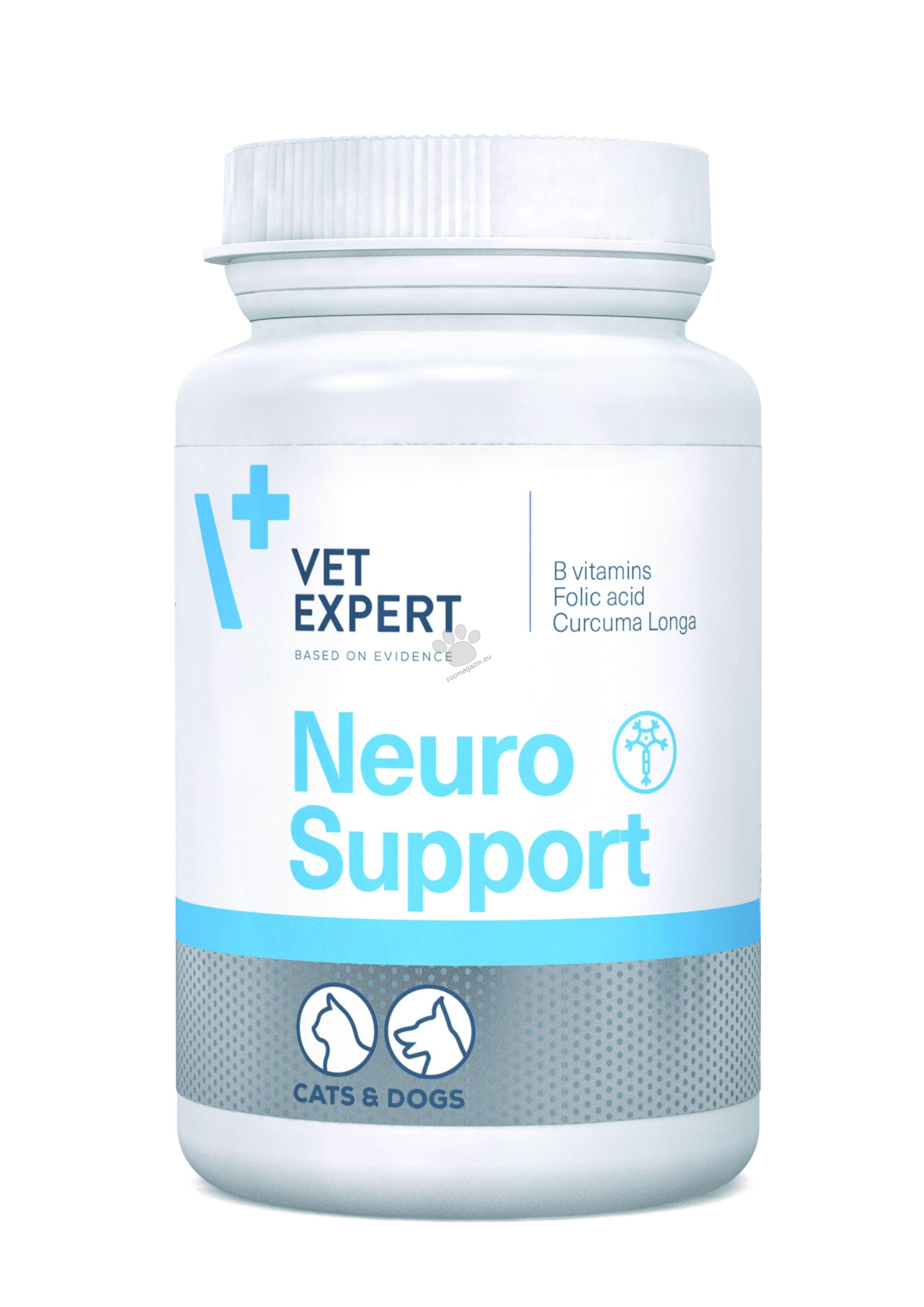 Vetexpert NeuroSupport - нова добавка за подпомагане на фунцията на нервната система 45 табл.
