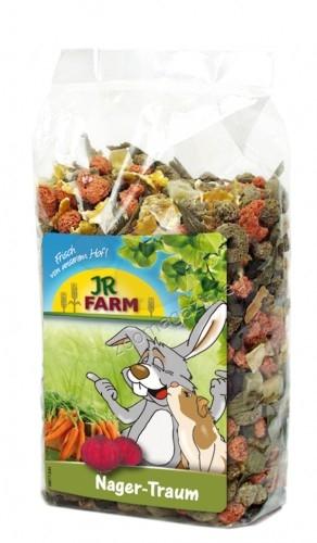 JR Farm Rodents Dream - мечтата на гризачите, колоритен микс от висококачествени зеленчуци и зърнени продукти 200 гр.