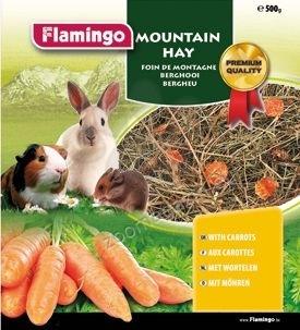 Flamingo Mountain Hay - планинско сено с моркови 500 грама