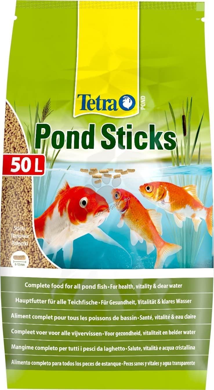 Tetra - Pond Colour Sticks - храна за езерни рибки 25 литра
