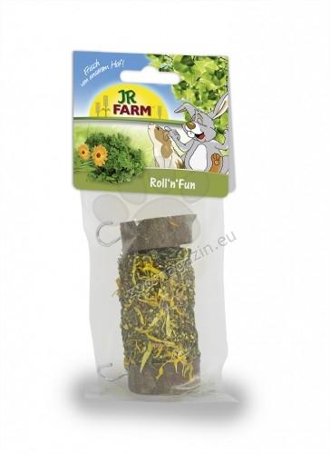 JR Farm Mr. Woodfield Roll - истинско дърво с пълнеж от цветя и билки