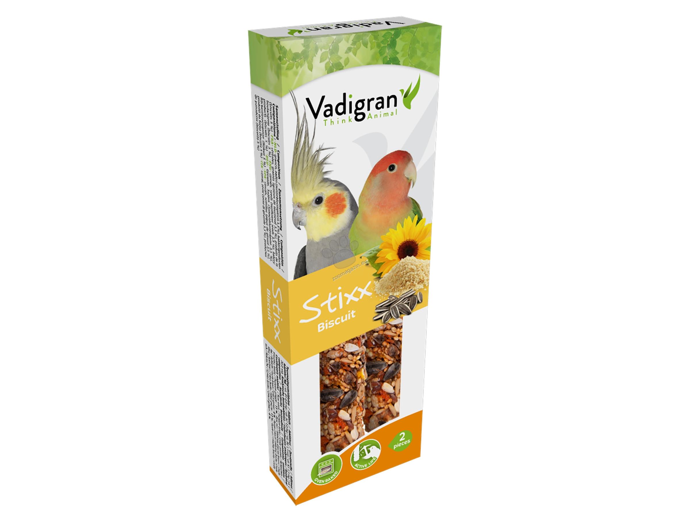 Vadigran Snack StixX Budgie biscuits - крекер с бисквити 115 гр., 2 броя