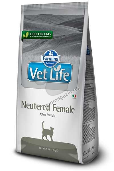 Vet Life Natural Diet Cat Neutered Female - храна за кастрирани женски котки 400 гр.