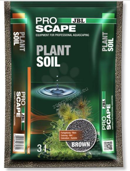JBL ProScape PlantSoil BROWN - хранителен субстрат за растения 3 литра / за акваскейпинг аквариуми /