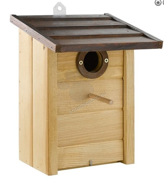 Ferplast - Natura N5 - градинска къщичка за диви птички 20,8  / 17,6 / 26,8 cm