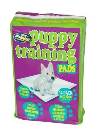 Pet Brands Dogs Puppy Training Pads - супер абсорбиращи памперси за постилане 60 / 60 см., 14 броя