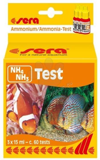 Sera - NH4 NH3 Test  - тест за амоний, амоняк 15 мл.