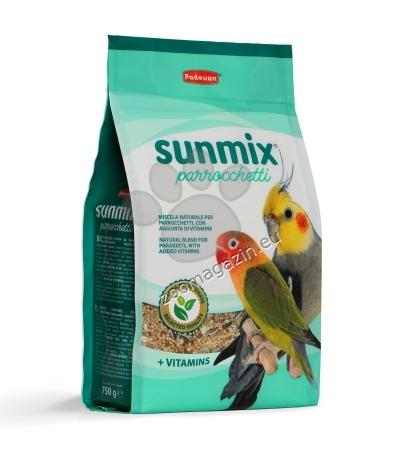Padovan Sunmix Parrochetti - пълноценна храна за средни папагали 750 гр.