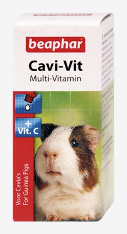 Beaphar Cavi Vit - мултивитамини + вит.С за морски свинчета 20 мл.