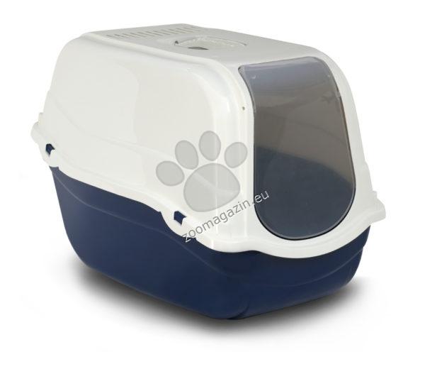 M.P.Bergamo Romeo - закрита котешка тоалетна с карбонов филтър /зелена, синя, розова/ 57 / 39 / 41 см