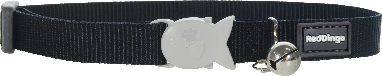 Red Dingo Cat Collar Classic Black - котешки нашийник, 12 мм х 20-32 см