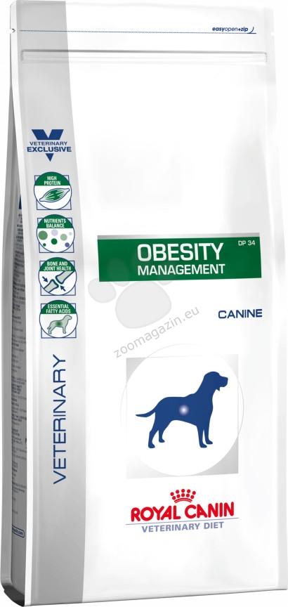 Royal Canin Obesity Management - лeчебна храна за кучета с наднормено тегло 14 кг.