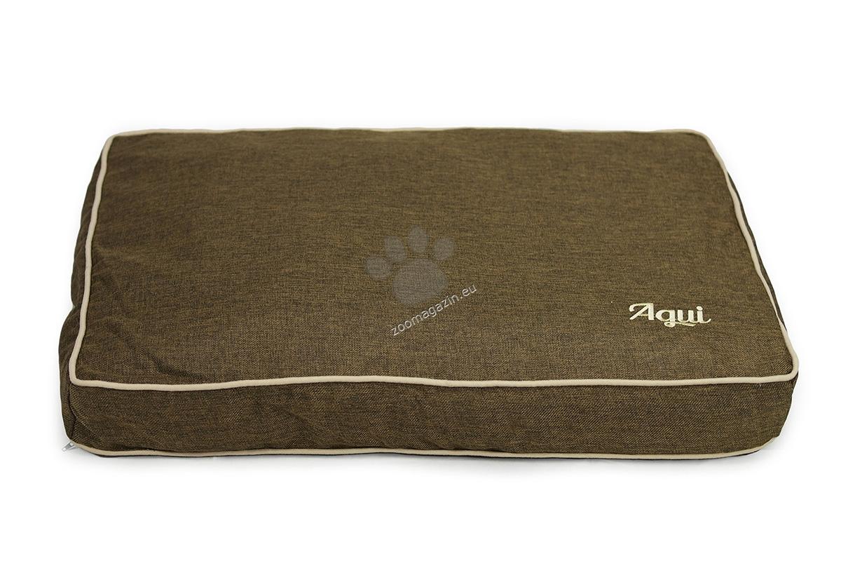 Agui Nature Cushion - луксозен мек матрак 75 / 55 / 10 см. / сиво, кафяво, синьо, лилаво /