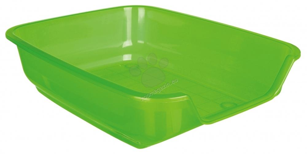 Trixie Nuno Litter Tray - котешка тоалетна / зелена, синя, лилава / 36 / 28 / 9 см.