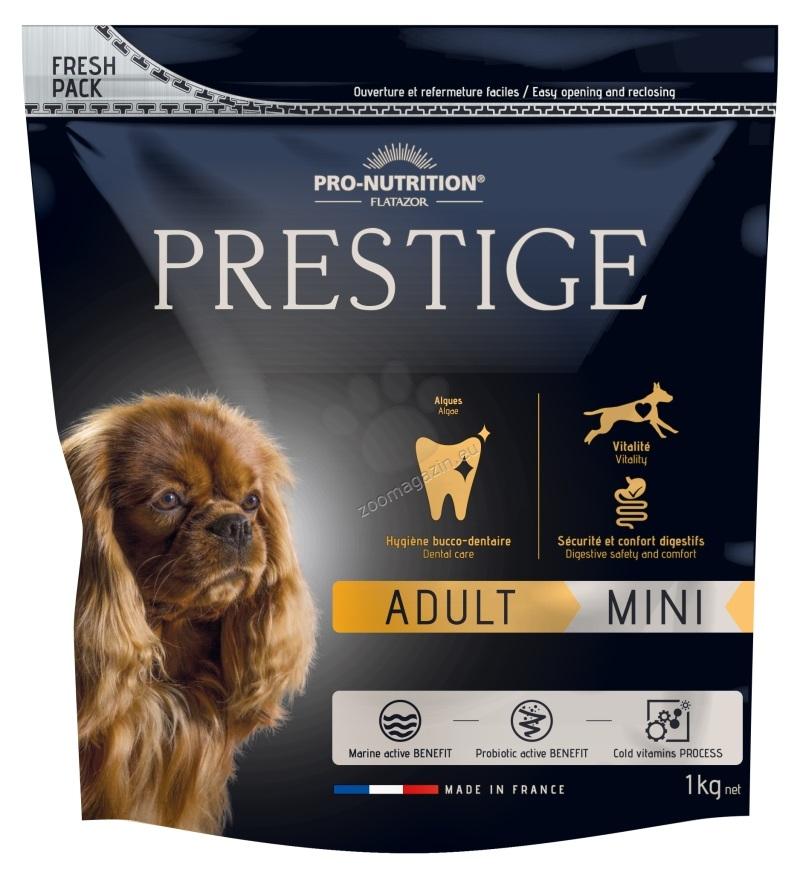 Flatazor Prestige Adult Mini - пълноценна храна за кучета малки породи от 1 до 8 години 1 кг.