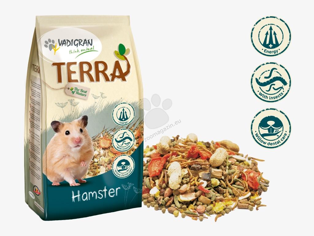 Vadigran - Terra Hаmaster Super Premium - пълноценна храна за хамстери 700 гр.