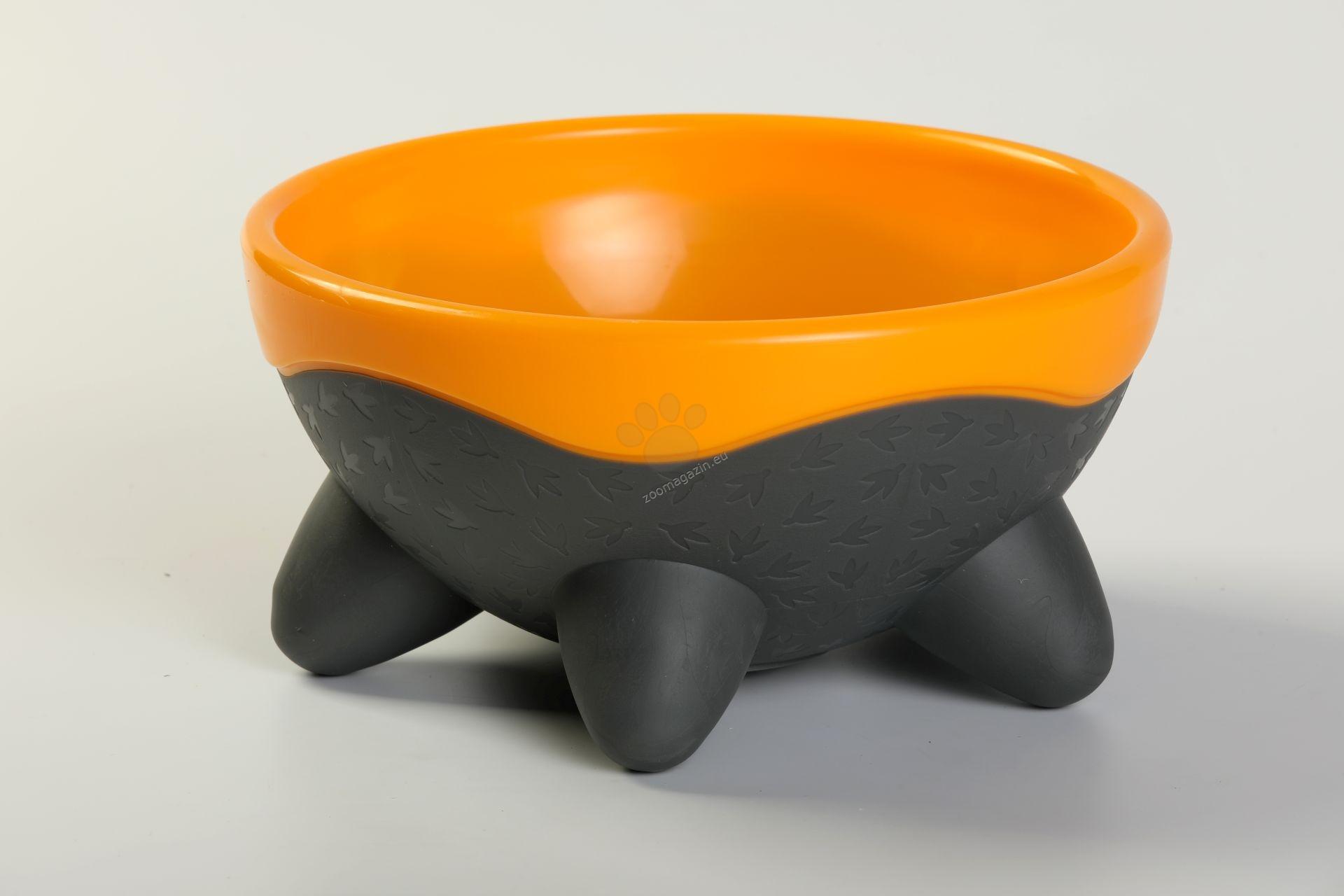 Kiwi Walker UFO Bowl - дизайнерска купичка за храна или вода 750 мл. / оранжева, зелена, розова, синя /