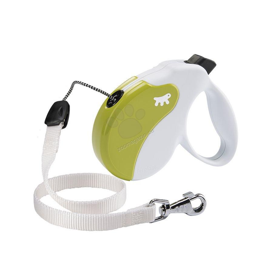 Ferplast - Amigo Cord L White Green - 5 метра въже, за кучета с тегло до 50 кг.