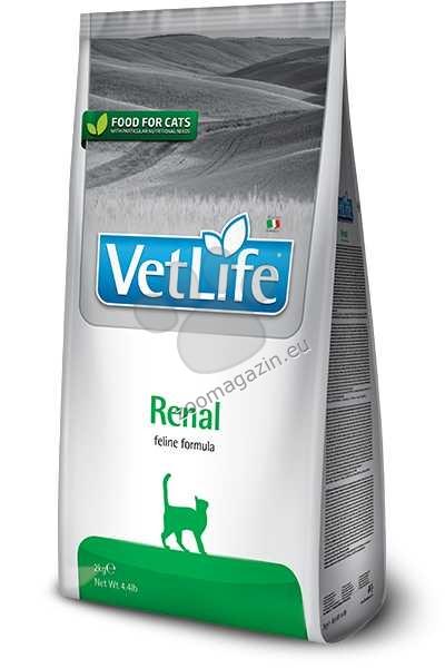 Vet Life Natural Dit Cat Renal - диета за котки с бъбречна недостатъчност 2 кг.