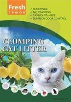 Valenger Clumping Cat Litter Fresh Lemon - бентонитова тоалетна с аромат на лимони 5 литра