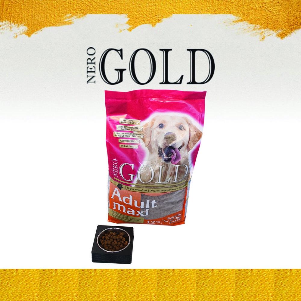 Nero Gold Adult Large Breed - пълноценна храна за кучета големи и гигантски породи над 18 месечна възраст 12 кг.