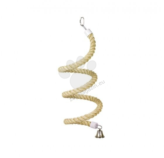 Nobby sisal toy spiral for parrots, large parakeets and parakeets - играчка 173 см.