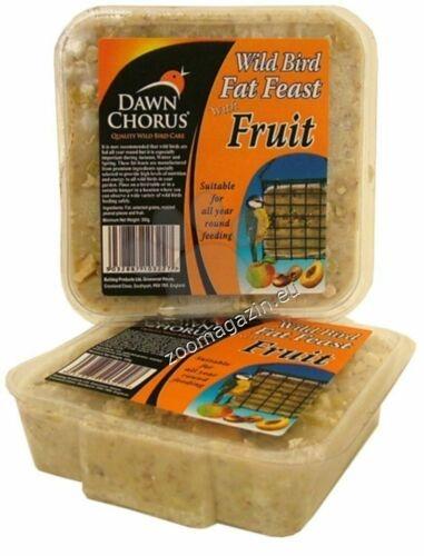 Pet Brands Dawn chorus fat feast fruity - Високоенергиен блок за диви птици от семена с градински плодове