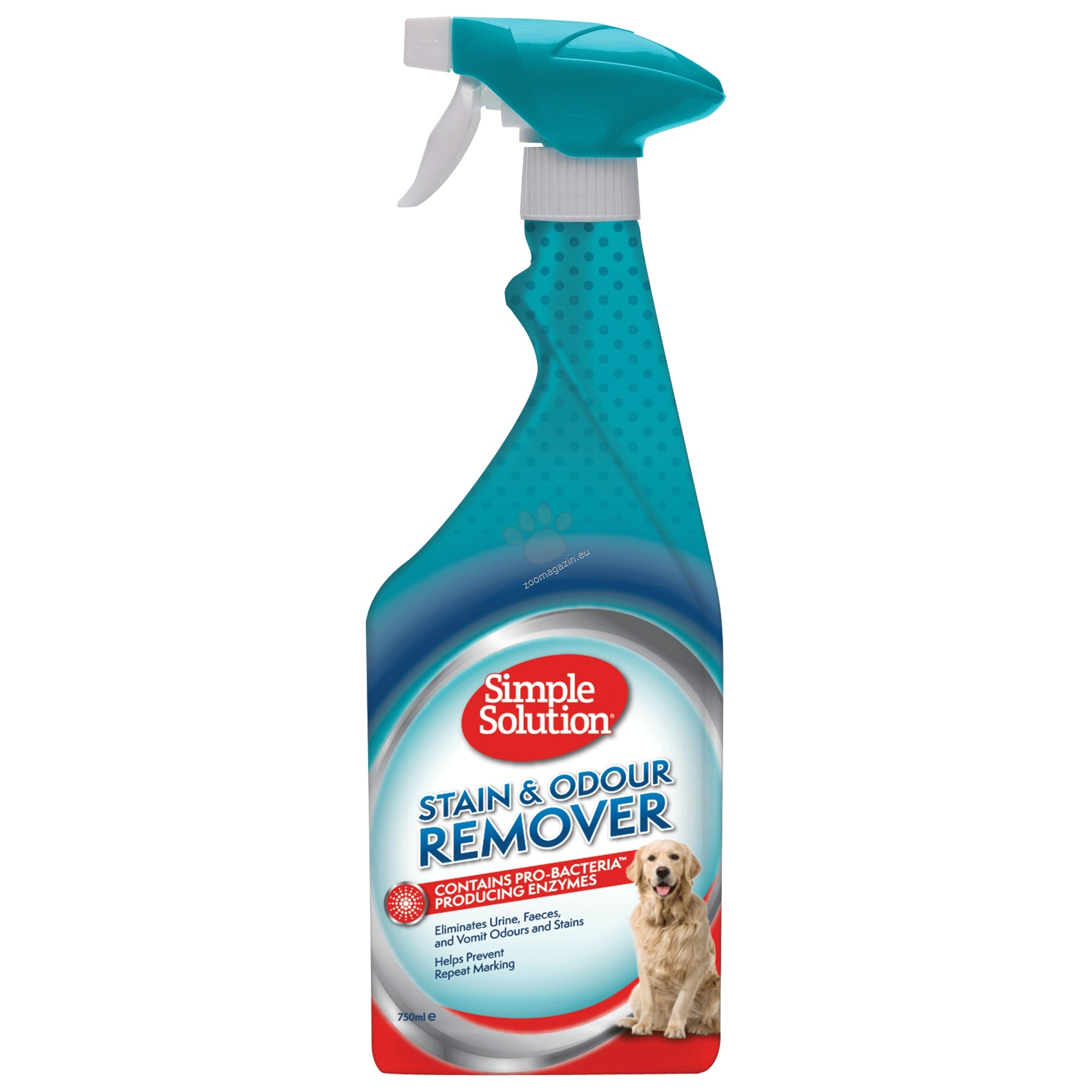 Simple Solution Extreme S&O Remover - концентрат против петна и миризми 500 мл.