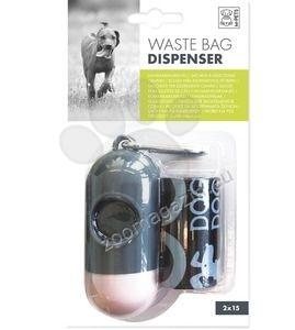 M-Pets Waste Bag Dispenser - капсула за пликчета с включени две ролки