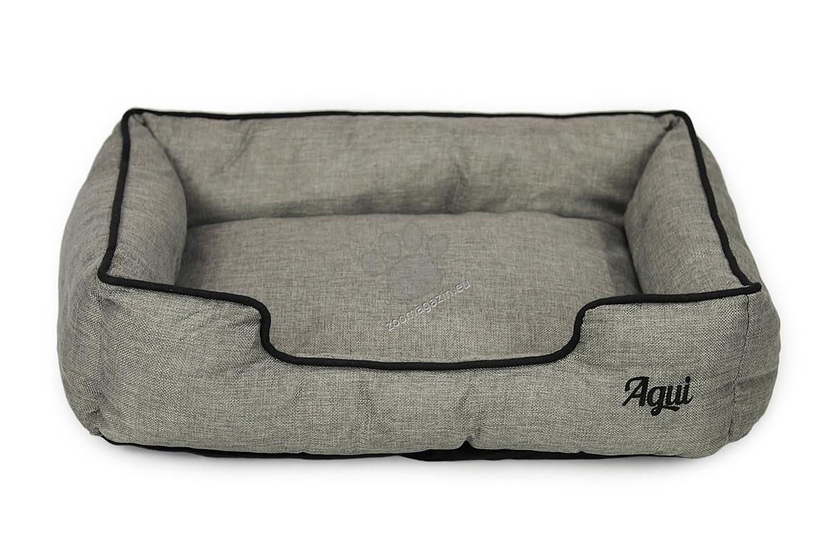 Agui Nature Bed - луксозно меко легло 60 / 50 / 17 см. / сиво, кафяво, синьо, лилаво /